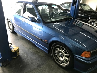 BMW M3 Suspension Repair